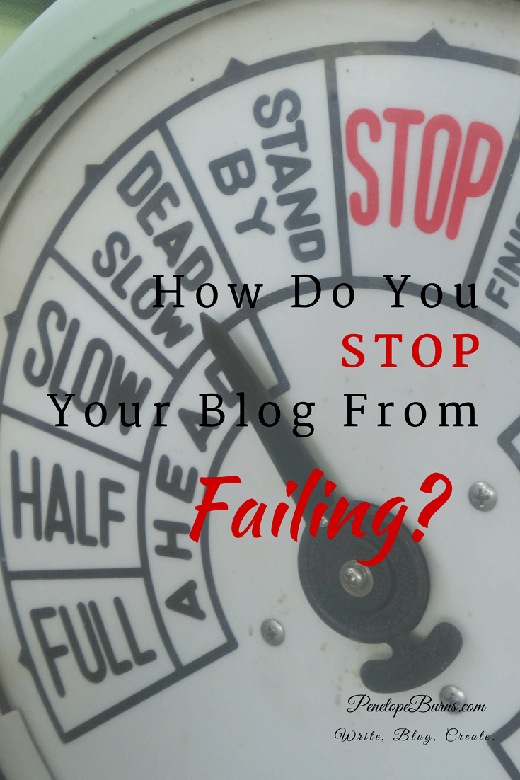 How Do You Stop Your Blog From Failing