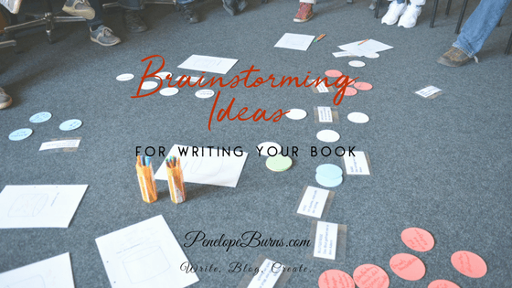 Tips for Brainstorming Ideas for Writing Your Book