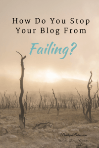 Stop Your Blog From Failing